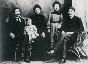 Photo: Famille George Agetees, 1901