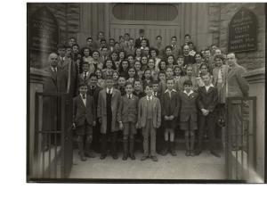 Photo: Holy Trinity Church, 1945