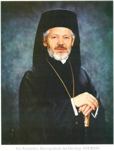 His Eminence Metropolitan Archbishop Sotirios
